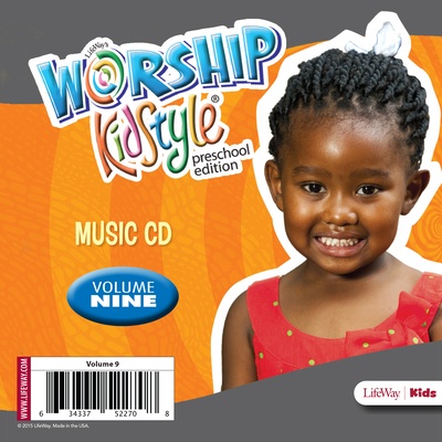 Worship Kidstyle: Preschool Music CD Volume 9