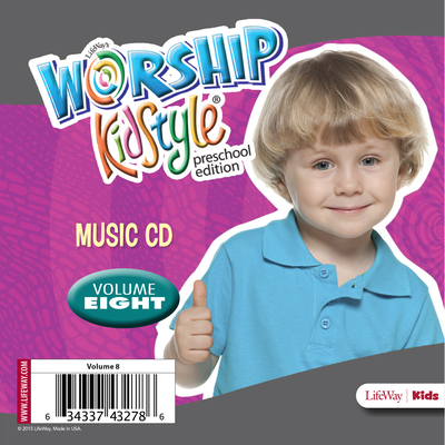 Worship Kidstyle: Preschool Music CD Volume 8