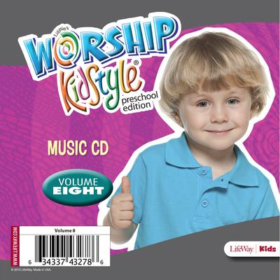 Worship Kidstyle: Preschool Music CD Volume 8