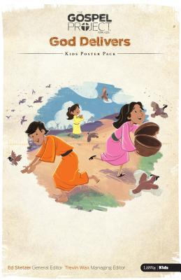 The Gospel Project for Kids: God Delivers - Kids Poster Pack: Volume 2 - God Delivers