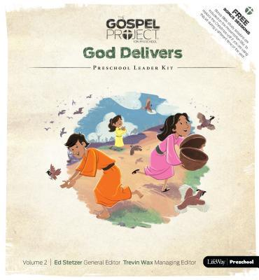 The Gospel Project Preschool: Preschool Leader Kit - Volume 2: God Delivers