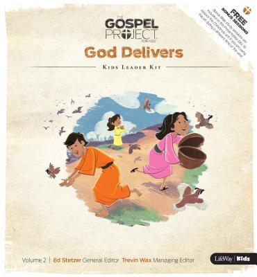 The Gospel Project for Kids: Kids Leader Kit - Volume 2: God Delivers