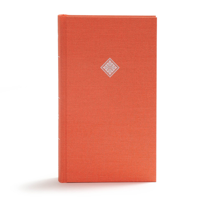CSB Reader's Bible, Poppy Cloth Over Board