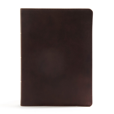 CSB Worldview Study Bible, Brown Genuine Leather