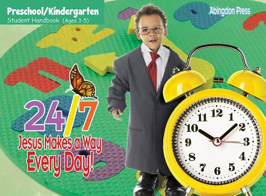 Vacation Bible School (Vbs) 2018 24/7 Preschool/Kindergarten Student Handbook (Ages 3-5) (Pkg of 6): Jesus Makes a Way Every Day!