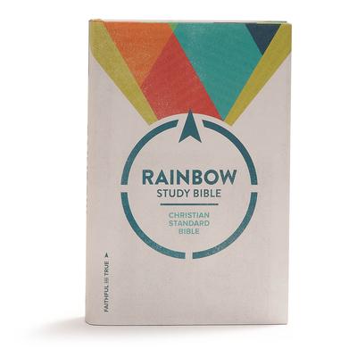 CSB Rainbow Study Bible, Hardcover