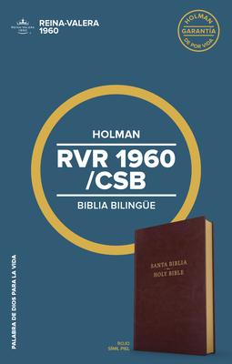 Rvr 1960/CSB Biblia Bilinge, Borgoa Imitacin Piel: CSB/Rvr 1960 Bilingual Bible, Burgundy Imitation Leather