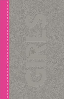 CSB Study Bible for Girls Pewter/Pink, Paisley Design Leathertouch