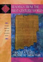 Readings from the First-Century World : Primary Sources for New Testament S