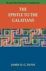 Epistle to the Galatians, The (Black's New Testament Commentary)