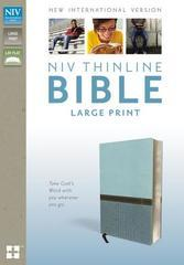 NIV THINLINE BIBLE LARGE PRINT