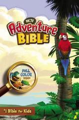 NKJV, Adventure Bible, Hardcover, Full Color