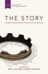 KJV, The Story, Hardcover: The Bible as One Continuing Story of God and His