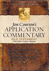 JON COURSON'S APPLICATION COMMENTARY OT VOL. 2