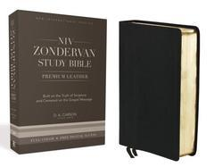 NIV ZONDERVAN STUDY BIBLE PREMIUM LEATHER