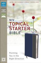NIV TOPICAL STARTER BIBLE STANDARD PRINT SLATE BLUE/GRAY