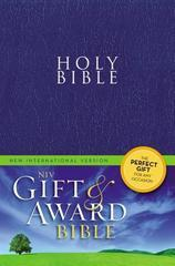 NIV GIFT & AWARD BIBLE BLUE SOFTCOVER SMALL PRINT
