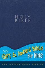 NIV GIFT & AWARD BIBLE FOR KIDS NAVY SMALL PRINT