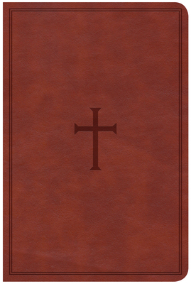 CSB Compact Ultrathin Reference Bible, Brown Leathertouch, Indexed