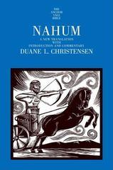 Nahum: A New Translation with Introduction and Commentary (The Anchor Yale
