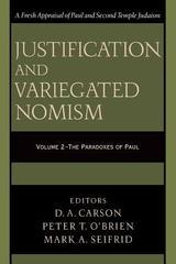 Justification and Variegated Nomism, vol. 2