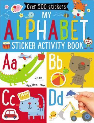 My Alphabet Sticker Activity Book
