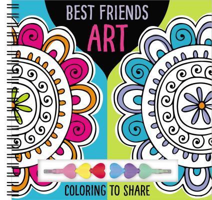 Art Books Best Friends Art [With Pens/Pencils]