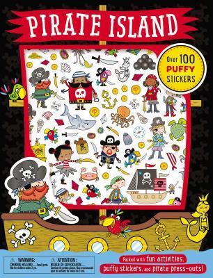 Pirate Island Puffy Sticker Book