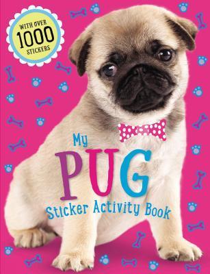 Pug Sticker Activity Book