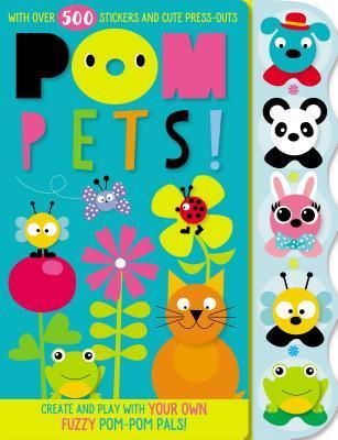 Sticker Activity Books POM Pets