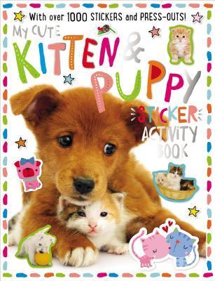 Sticker Activity Book My Kitten and Puppy