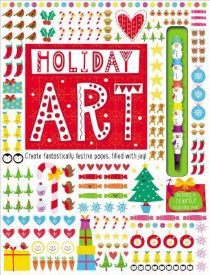 Art Book Holiday Art
