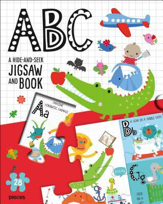 Jigsaw Puzzle Slipcase: ABC: A Hide-And-Seek Jigsaw and Book