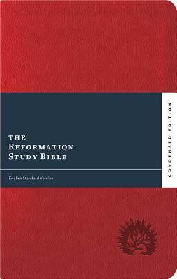 ESV Reformation Study Bible, Condensed Edition - Red, Leather-Like