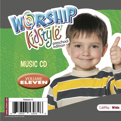 Worship Kidstyle: Preschool Music CD Volume 11