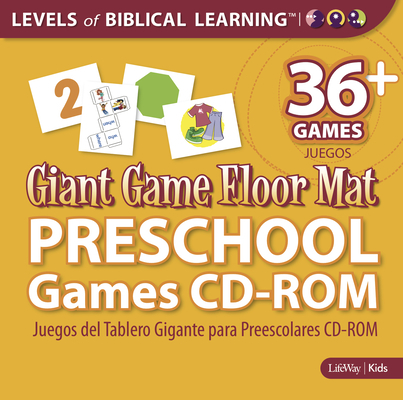 Levels of Biblical Learning: Giant Game Floor Mat - Preschool Games CD-ROM