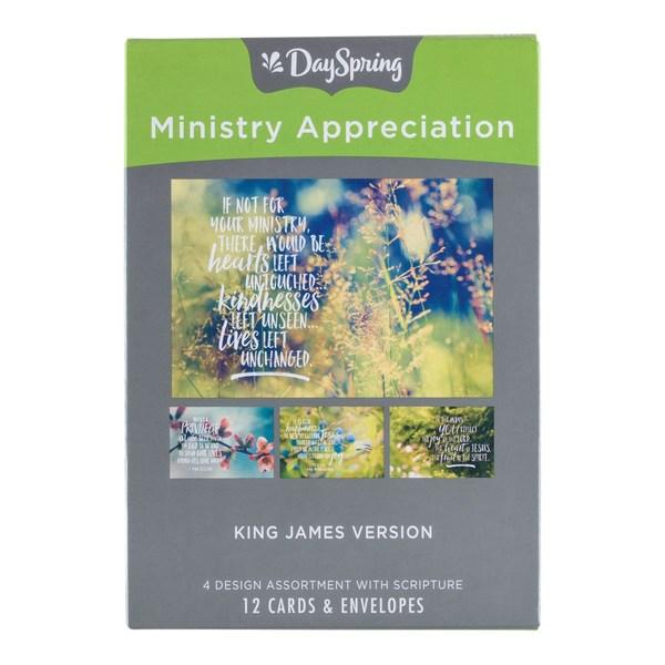 MINISTRY APPRECIATION NATURE