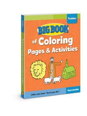 Big Book of Coloring Pages and Activities for Toddlers