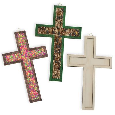 Vacation Bible School (Vbs) 2018 Rolling River Rampage Raised Edge Wood Craft Cross (Pkg of 12): Experience the Ride of a Lifetime with God!