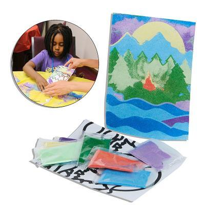 Vacation Bible School (Vbs) 2018 Rolling River Rampage River Sand Art Craft Kit (Pkg of 12): Experience the Ride of a Lifetime with God!