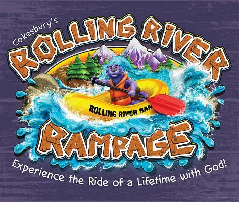 Vacation Bible School (Vbs) 2018 Rolling River Rampage Large LOGO Poster: Experience the Ride of a Lifetime with God!