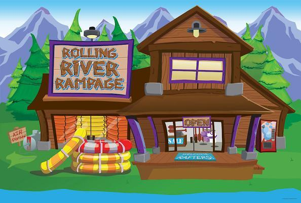 Vacation Bible School (Vbs) 2018 Rolling River Rampage Decorating Mural: Experience the Ride of a Lifetime with God!