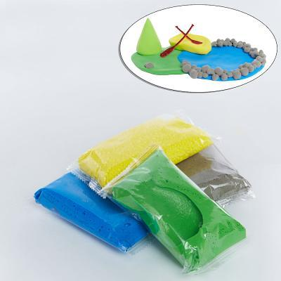 Vacation Bible School (Vbs) 2018 Rolling River Rampage Build-A-River-Scene Clay Set (Pkg of 12): Experience the Ride of a Lifetime with God!