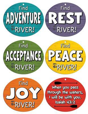 Vacation Bible School (Vbs) 2018 Rolling River Rampage Rapid Reminder Mobiles (Pkg of 6): Experience the Ride of a Lifetime with God!