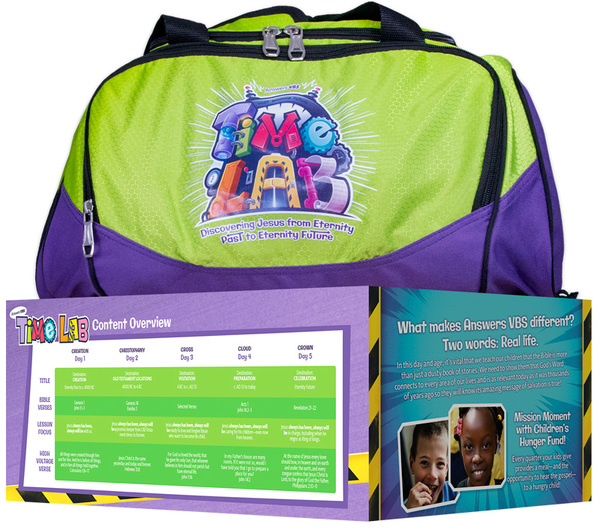 Time Lab Starter Kit - Answers in Genesis VBS 2018