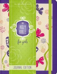 NIV HOLY BIBLE FOR GIRLS JOURNAL EDITION PURPLE
