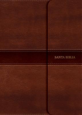 Rvr 1960 Biblia Letra Grande Tamano Manual Marron, Simil Piel y Solapa Con Iman