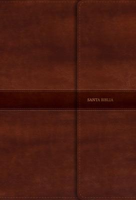 Rvr 1960 Biblia Letra Gigante Marron, Simil Piel y Solapa Con Iman