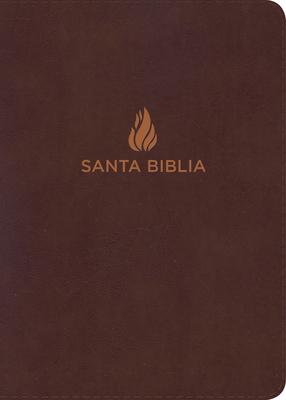 Rvr 1960 Biblia Letra Grande Tamano Manual Marron, Piel Fabricada