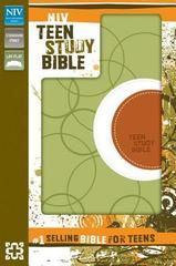 NIV TEEN STUDY BIBLE MELON GREEN